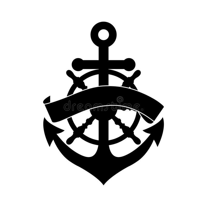 Free Wheel And Anchor Stock Photo - 35190670