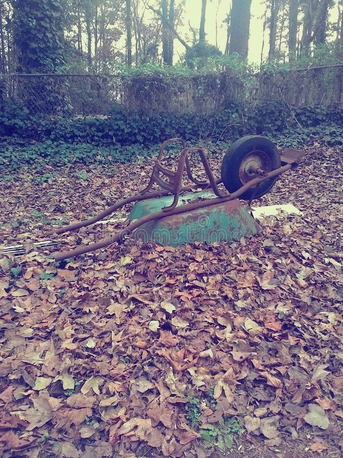 Wheel barrel royalty free stock photography