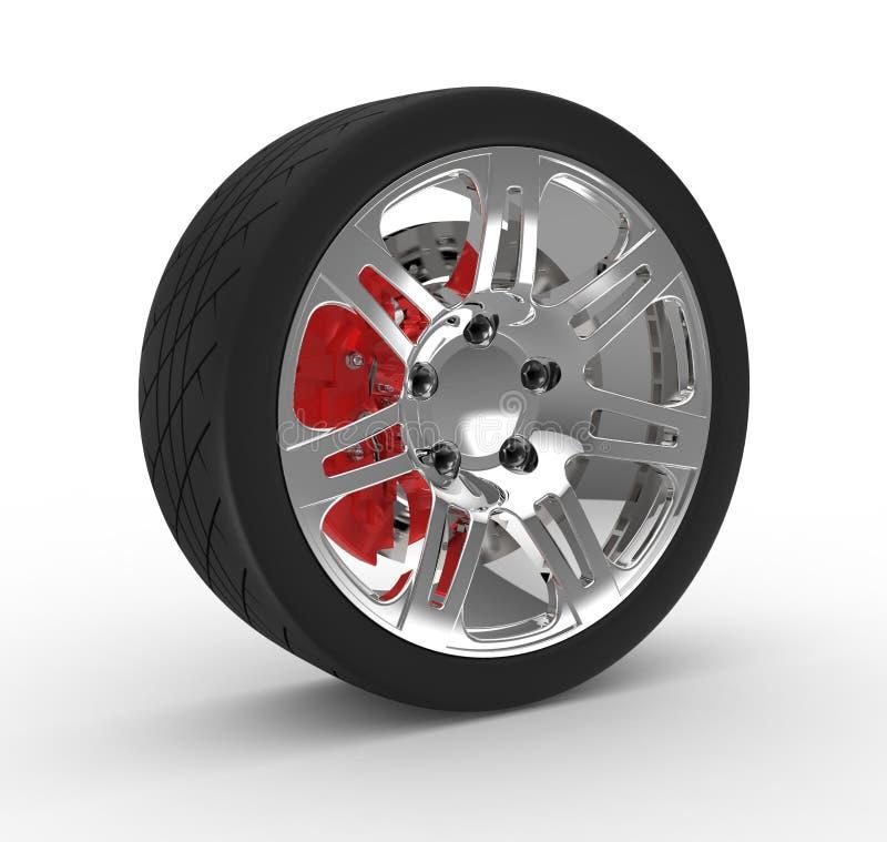 Download Wheel and brake stock photo. Image of wheel, brochure - 29620918