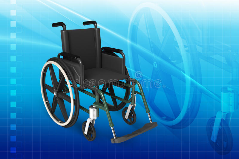 Download Wheel chair stock image. Image of disabled, accessibility - 26160143