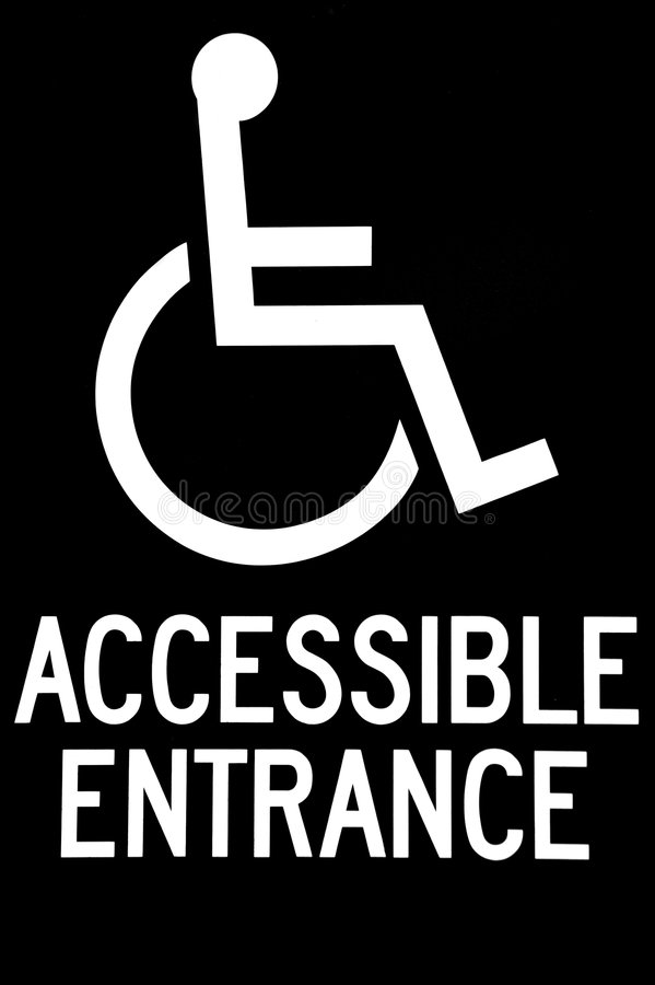 Free Wheel Chair Sign Stock Images - 3160294
