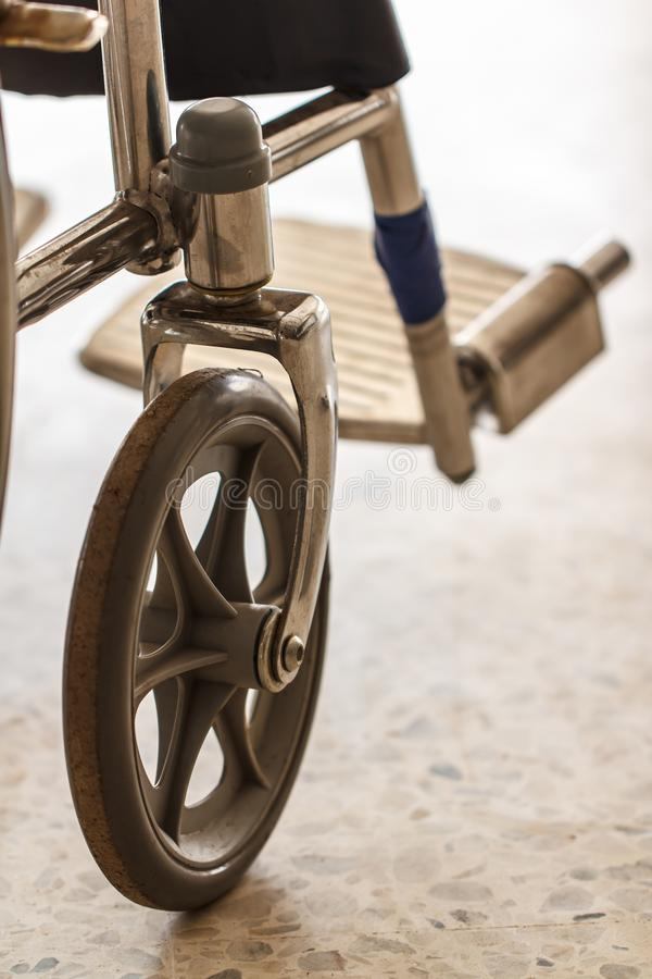 Wheel chair wheel stock images