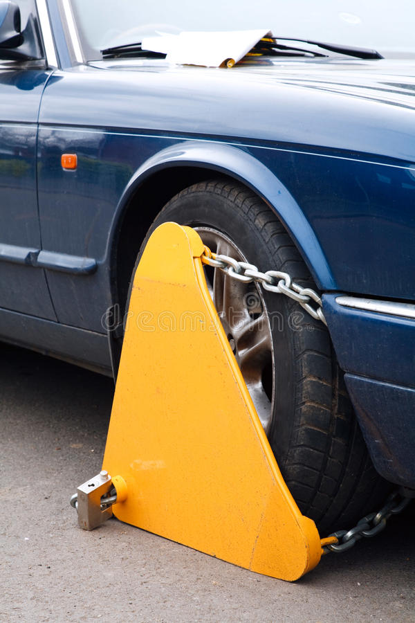 Free Wheel Clamp Stock Photos - 23504503