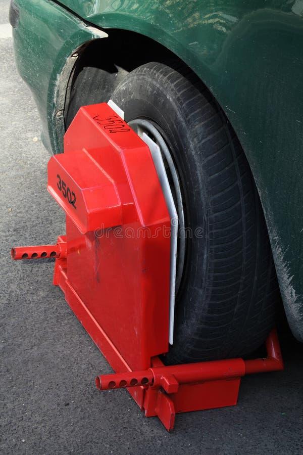 Download Wheel clamp stock image. Image of black, crime, lock, enforcement - 8685605