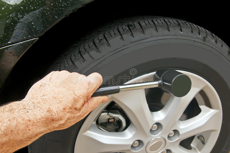 Download Wheel Cover stock photo. Image of mechanic, hubcap, auto - 26331520