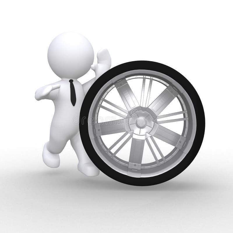 Download Wheel Royalty Free Stock Photo - Image: 37948245