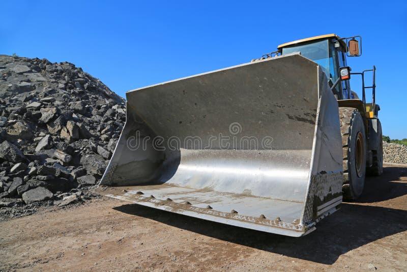 Wheel_loader stock afbeeldingen