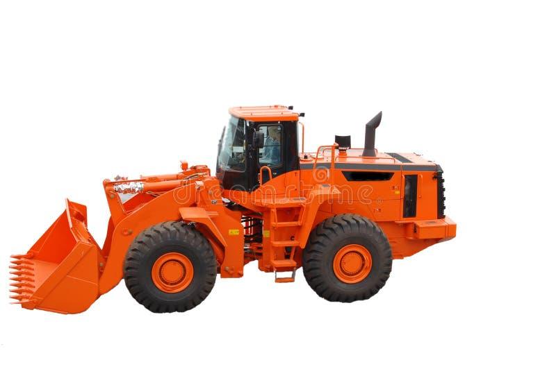 Wheel loader stock images