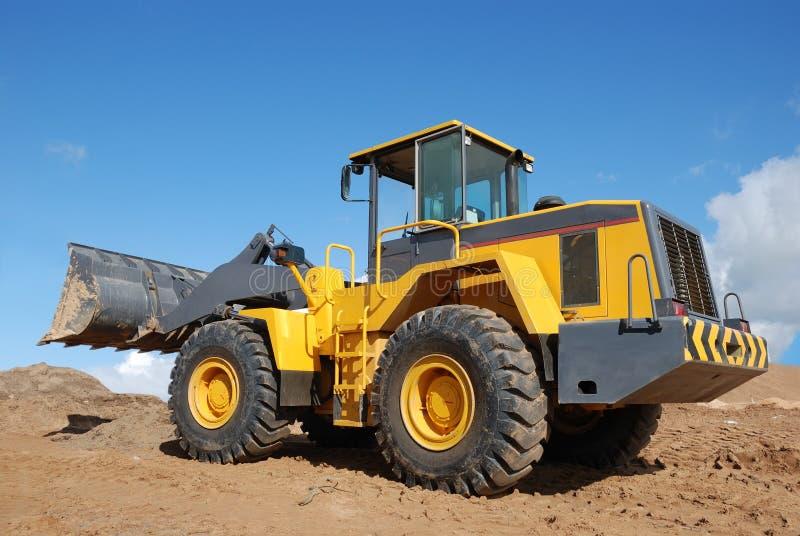 Wheel loader stock photos