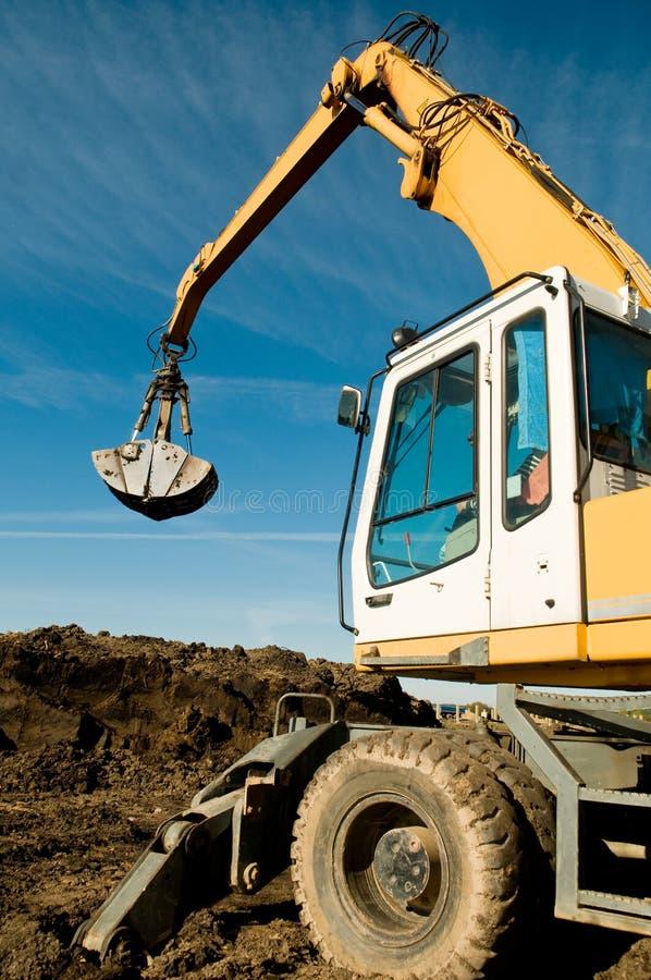 Download Wheel Loader Excavator At Work Stock Photo - Image: 16479440