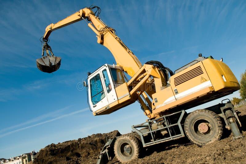 Download Wheel Loader Excavator At Work Stock Photo - Image: 16479520