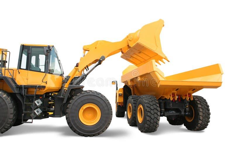 Download Wheel Loader Loading Dumper Stock Photo - Image: 5779020