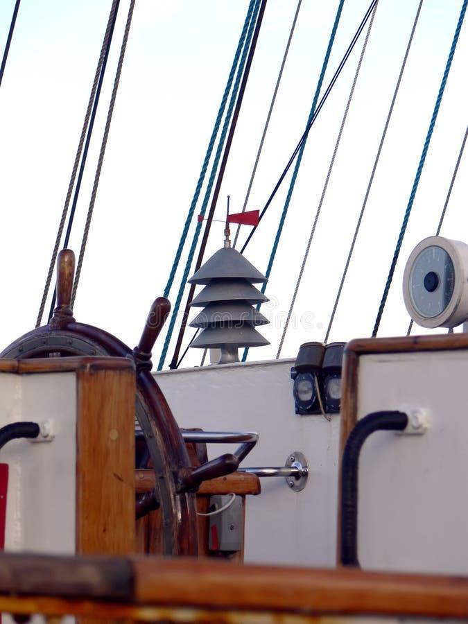 Free Wheel Of A Sailboat Royalty Free Stock Image - 4235856