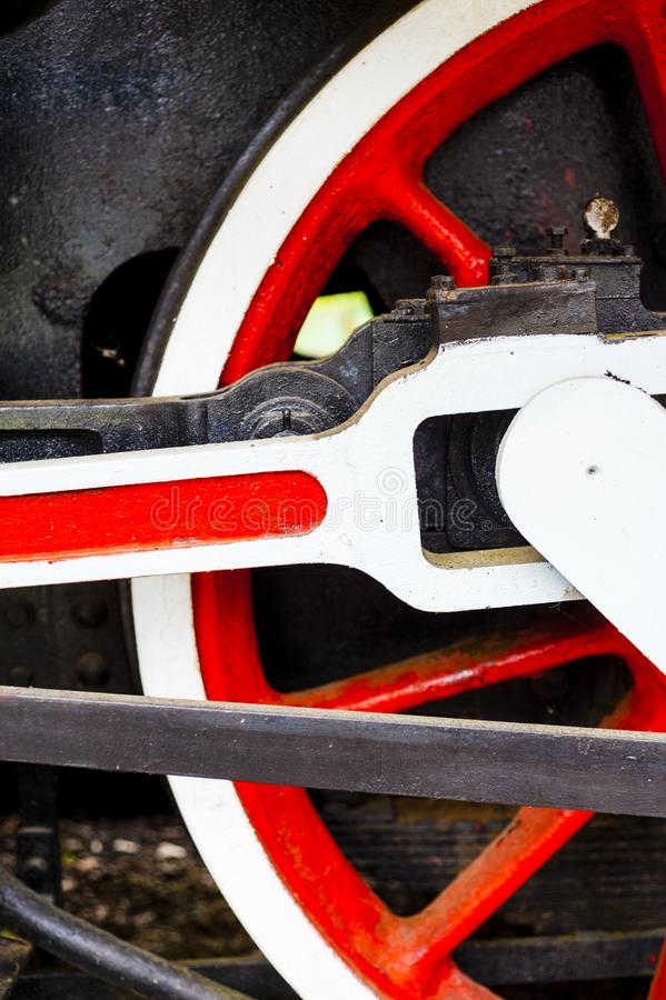 Free Wheel Of An Old Historic Train On Rail Royalty Free Stock Photos - 107959478