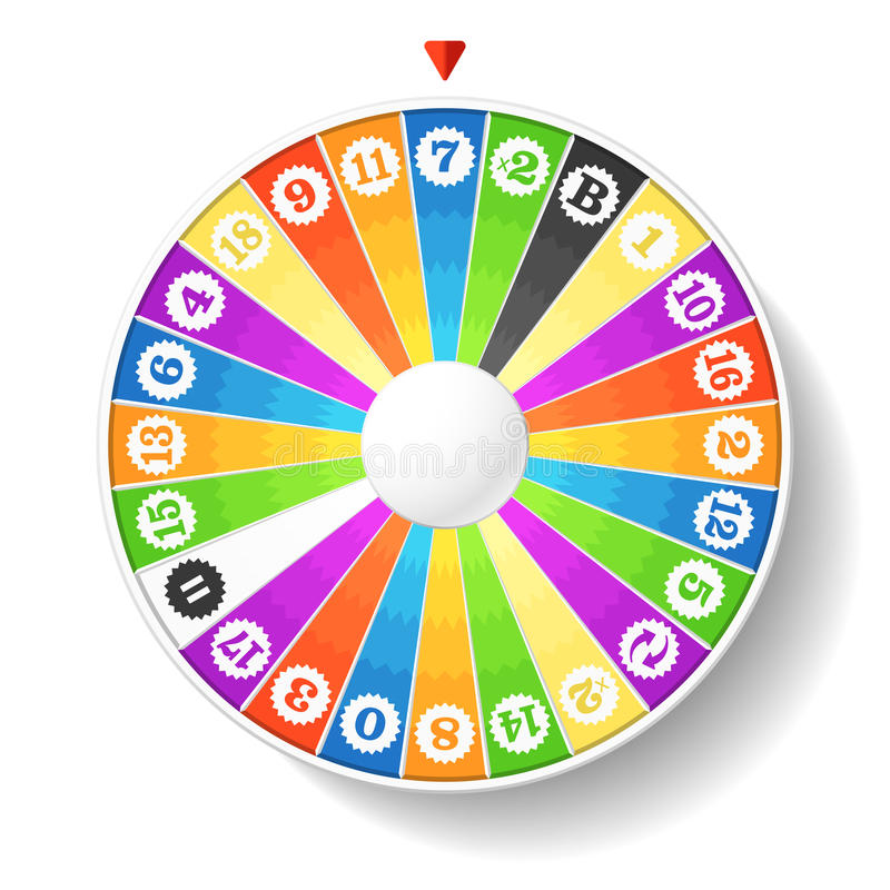 Free Wheel Of Fortune Royalty Free Stock Photos - 20778338