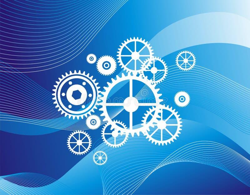 Wheel pattern royalty free stock image
