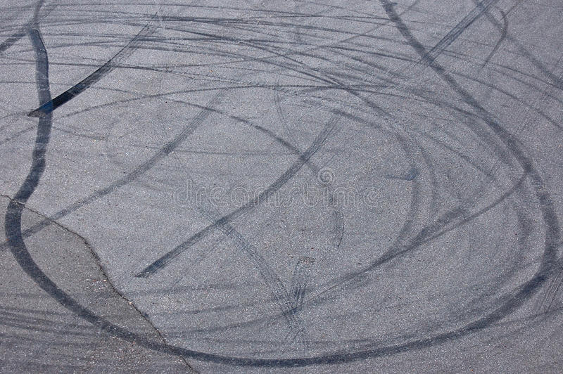 Download Wheel spin marks stock photo. Image of texture, gray - 33535310