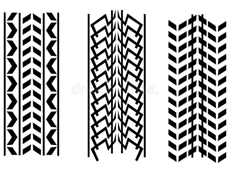 Download Wheel tracks stock illustration. Illustration of illustration - 14740268