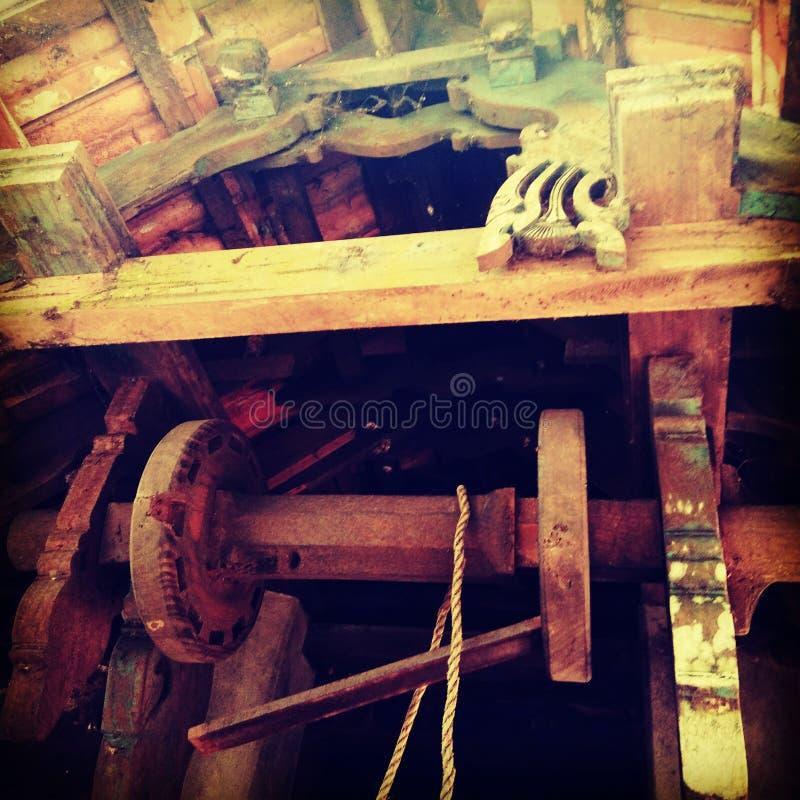 Wheel. Water wheel old villages Ariya royalty free stock photo