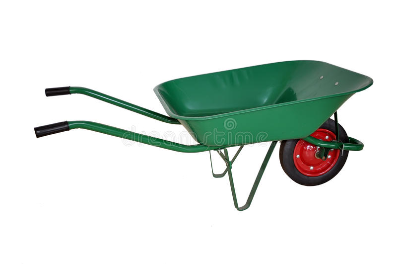 A Wheelbarrow Stock Image