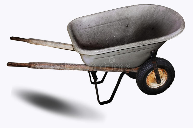 Download Wheelbarrow stock image. Image of handles, object, dirty - 16846473