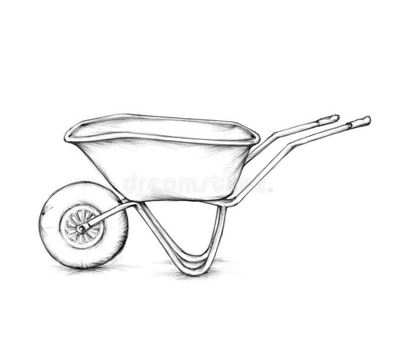 Free Wheelbarrow Royalty Free Stock Photo - 55191665