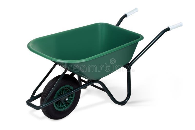 Wheelbarrow stock photography