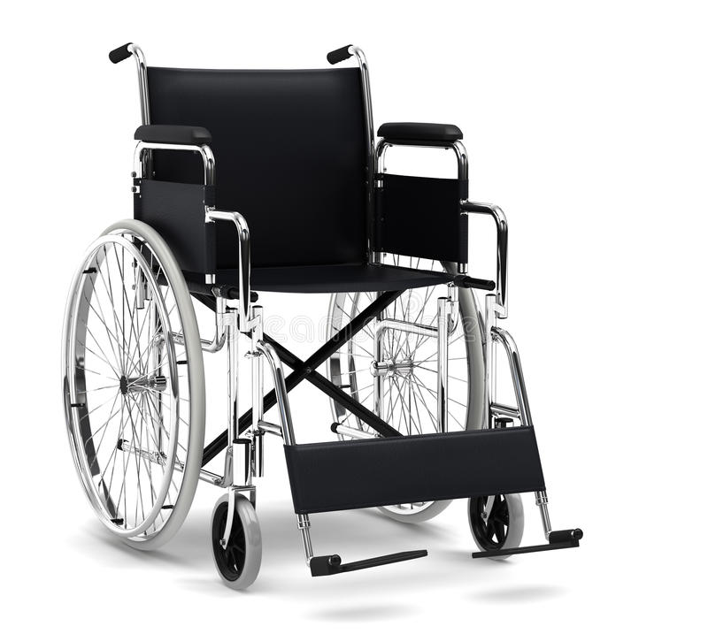 Download Wheelchair stock illustration. Image of disability, health - 18401058