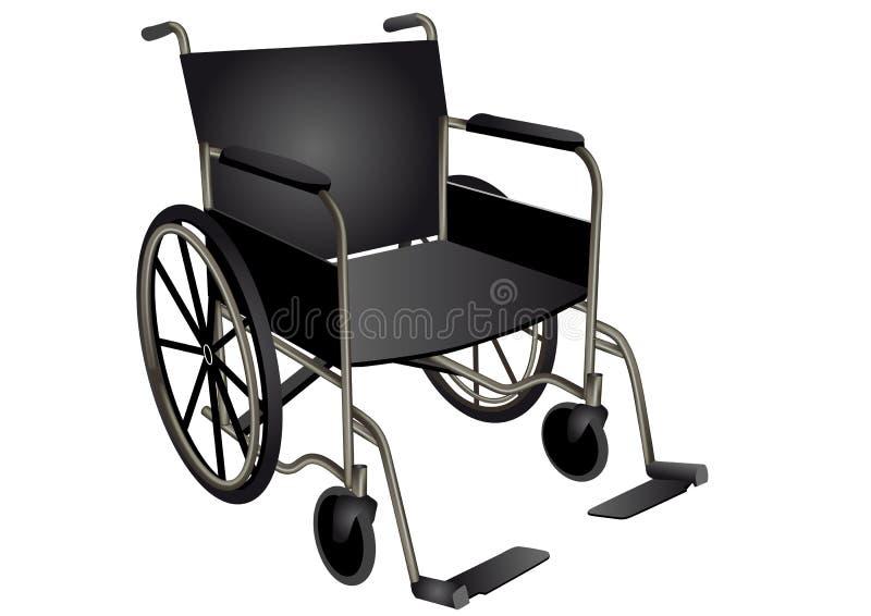 wheelchair ilustração royalty free
