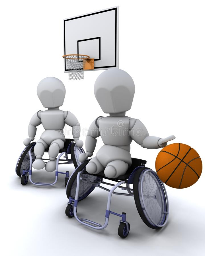 Download Wheelchair Basket Ball Royalty Free Stock Photos - Image: 14298758
