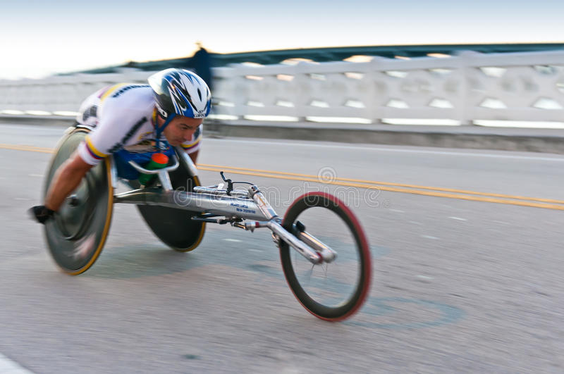 Download Wheelchair Competitor editorial stock photo. Image of determination - 18085153