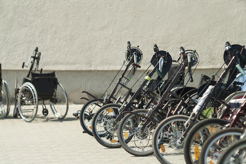 wheelchairs immagine stock libera da diritti