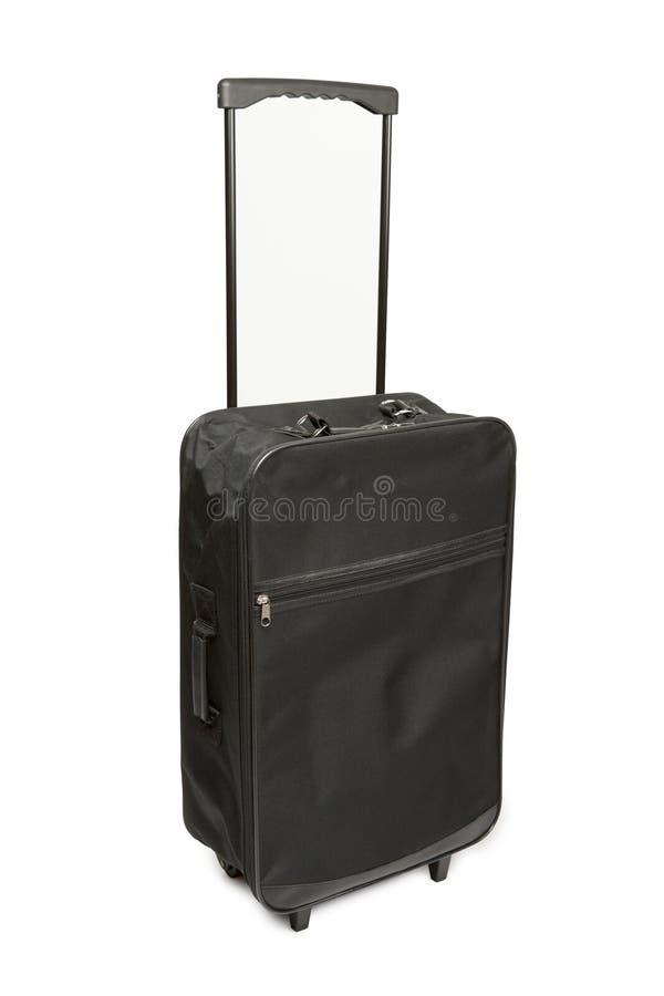 Wheeled bag. Isolated on white background royalty free stock image