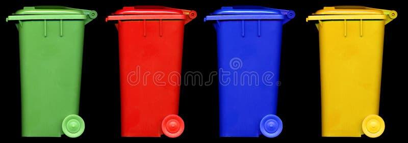 Download Wheelie bin stock image. Image of industrial, open, background - 12815919