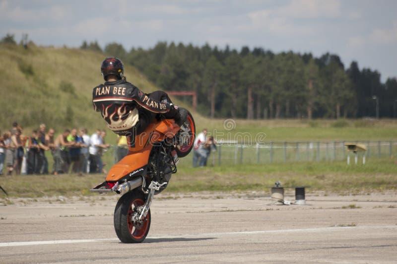 Wheelie delantero foto de archivo