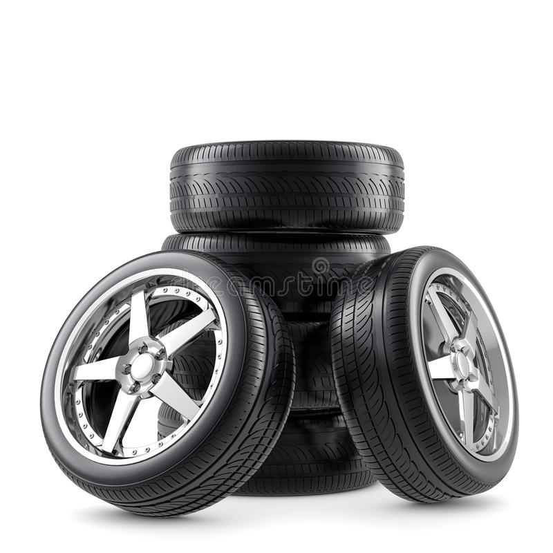Download Wheels composition stock illustration. Illustration of service - 30237221