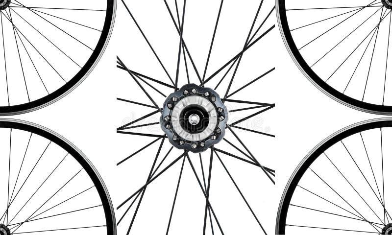 Wheels and hub royalty free illustration