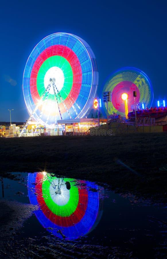 Download Wheels in motion stock photo. Image of ferris, fair, funfur - 24390928