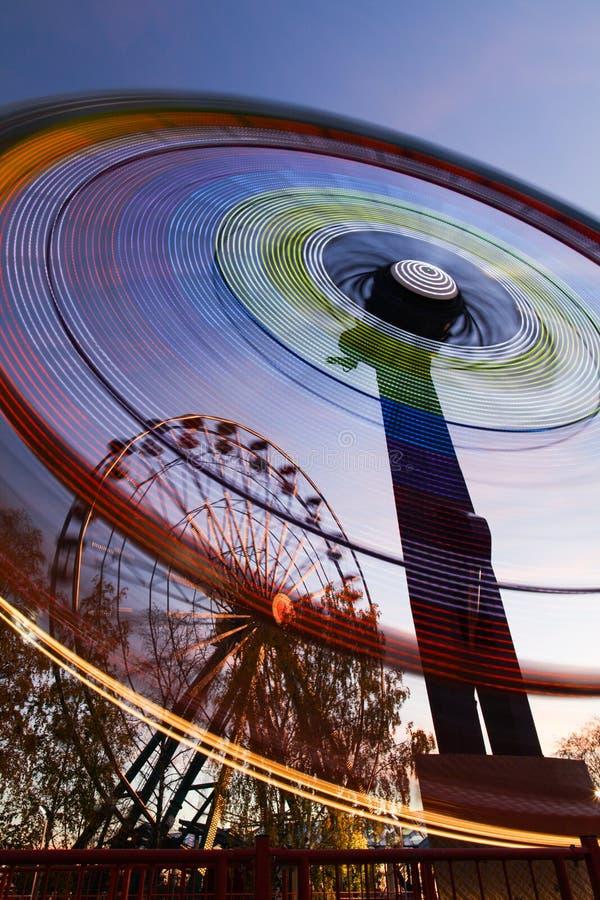 Ferris Wheels Motion Stock Photos