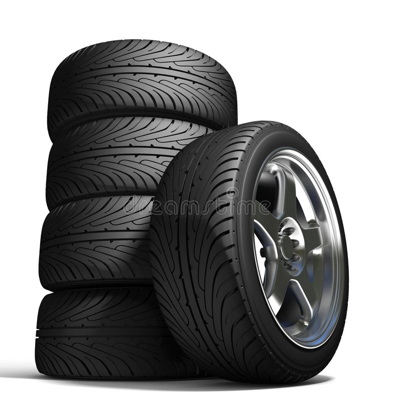 Wheels for the sports car