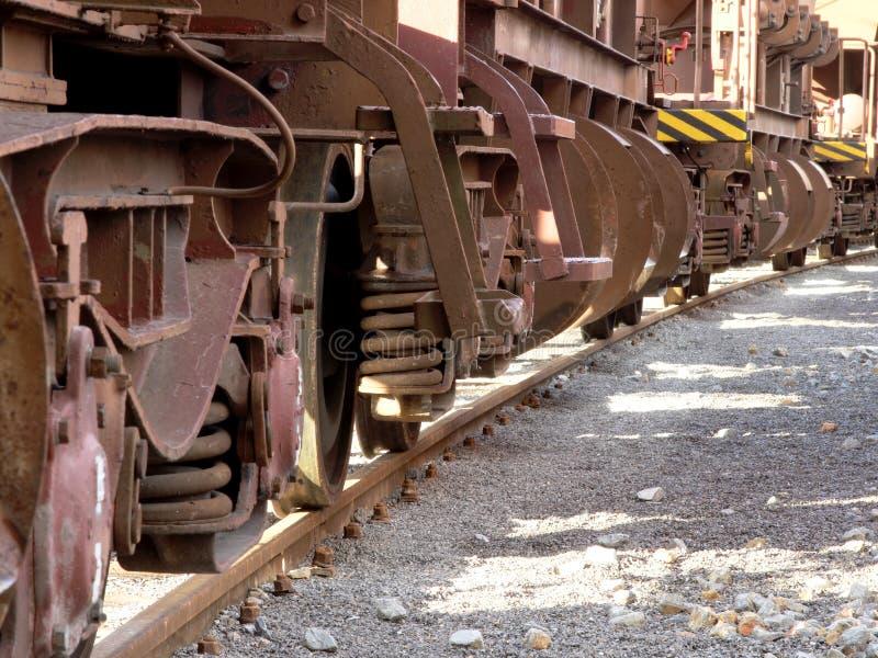 Wheels of train royalty free stock photos