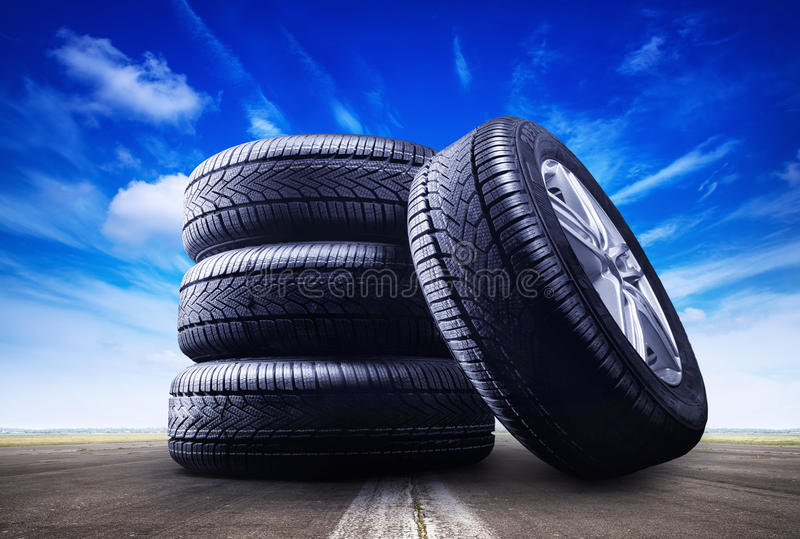 Download Wheels stock image. Image of auto, safety, tire, snow - 97108083
