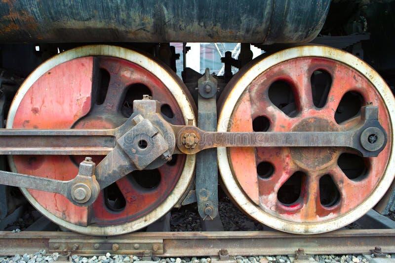 Whells del tren foto de archivo libre de regalías
