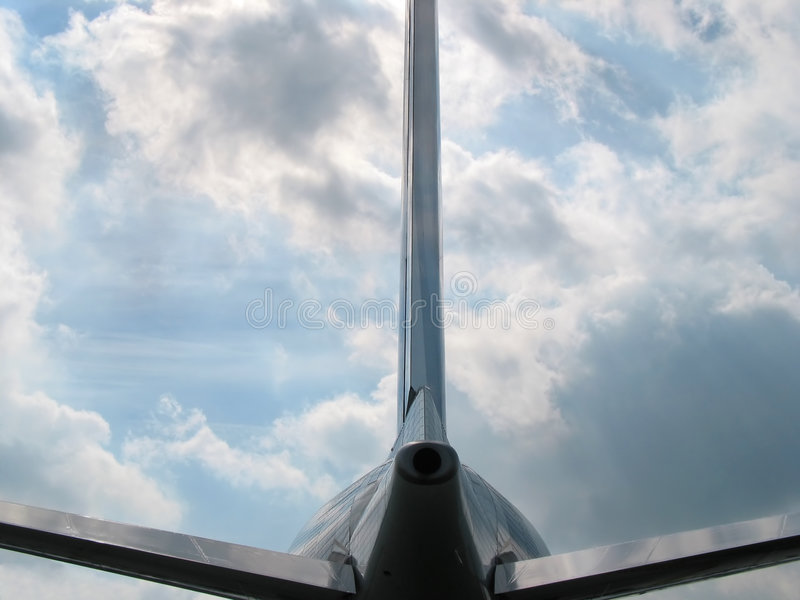 Where do you want to fly today? royalty free stock photography
