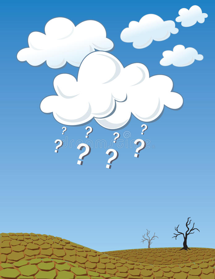 Download Where is the rain stock vector. Image of arid, global - 10287695