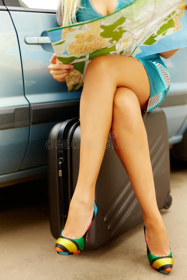 Download Where to go? stock photo. Image of location, female, girl - 23212940