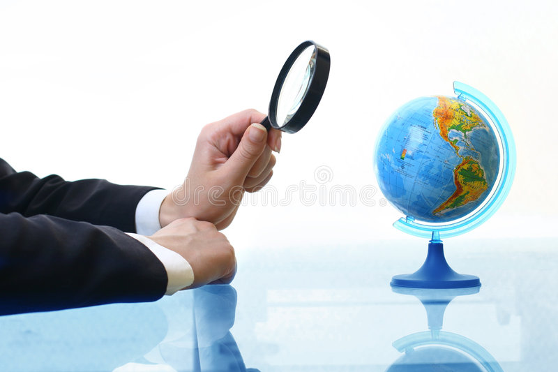Where to travel stock image