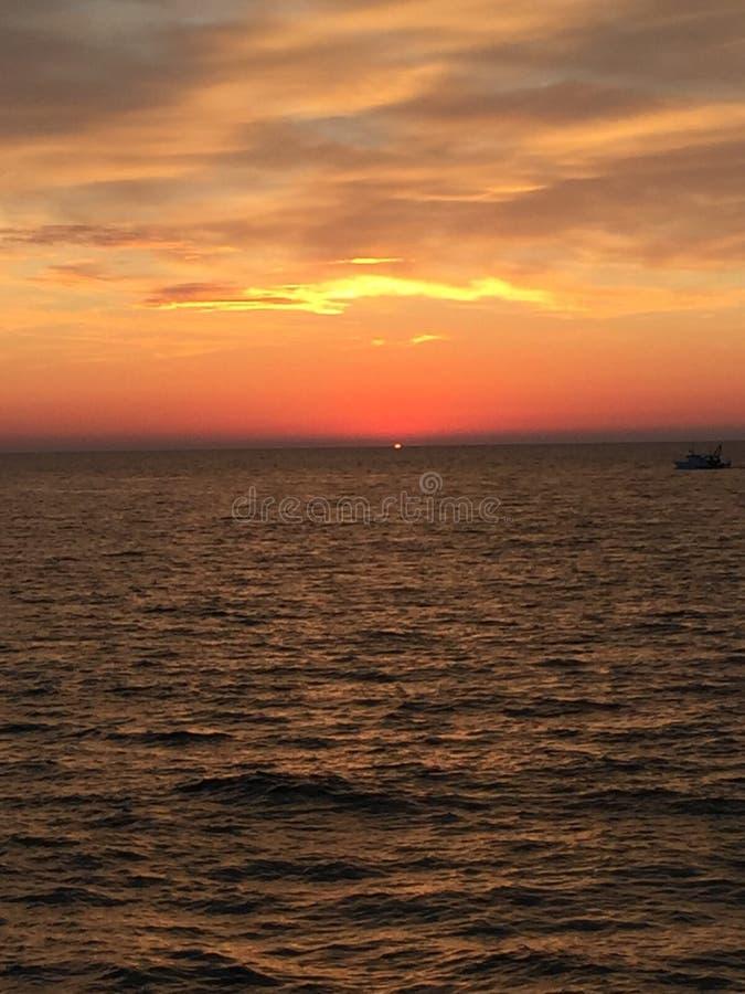 Wheter i morze obrazy stock