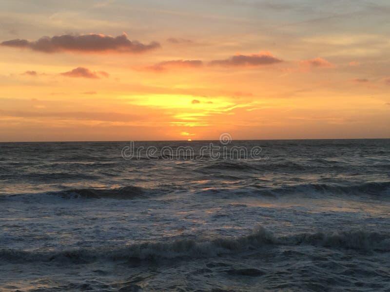 Wheter i morze zdjęcia stock