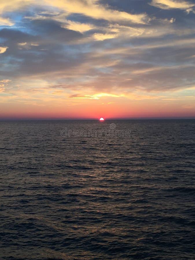 Wheter i morze obrazy royalty free